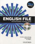 učebnice italštiny English File 3rd edition pre-intermediate