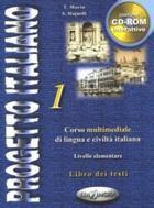 učebnice italštiny Progetto Italiano 1