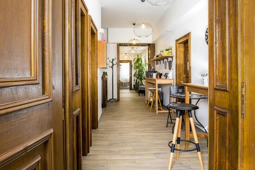 Společné prostory s barem a občerstvením