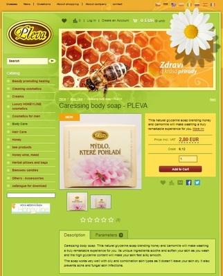 Popis na balení přírodní kosmetiky