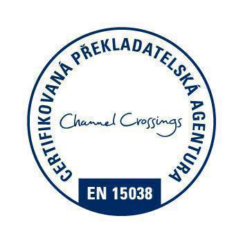 Channel Crossings - certifikovaná překladatelská agentura - ČSN EN 15038