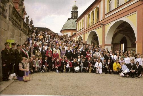 Italská delegace z Valle di Ledro -- Svatá Hora